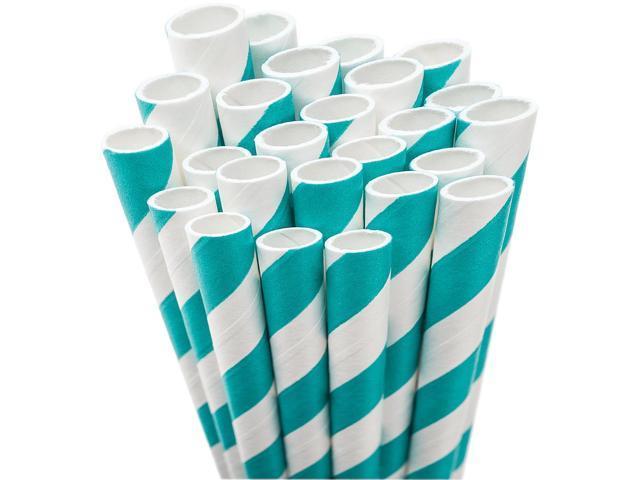 Jumbo Straw Unwrapped 7.75