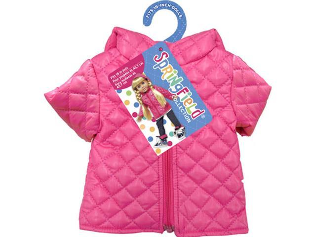 Springfield Collection Puffy Jacket-Pink