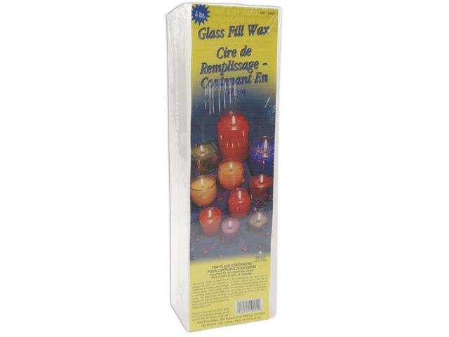 Glass Fill Candle Wax 4lb Block-White