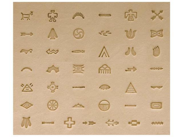 Native American Stamp Set-Symbols