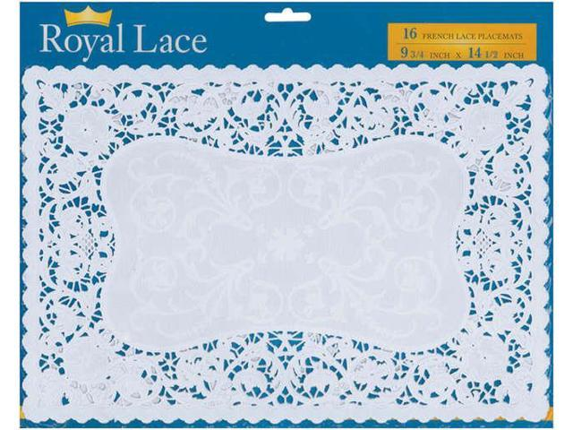 French Lace Paper Doilies-9.75