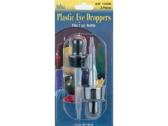 Plastic Eye Droppers 2/Pkg-