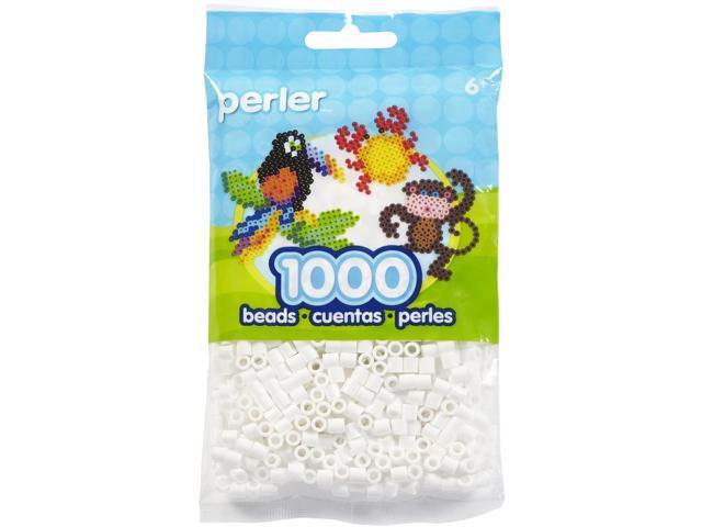 Perler Fun Fusion Beads 1000/Pkg-White