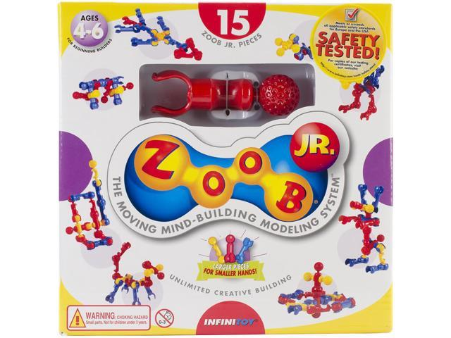 ZOOB JR. Pieces 15/Pkg-Primary