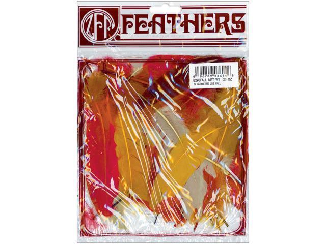Satinettes Feathers .25oz-Fall Mix