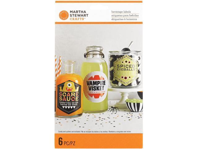 Drink Labels 6/Pkg-Monsters