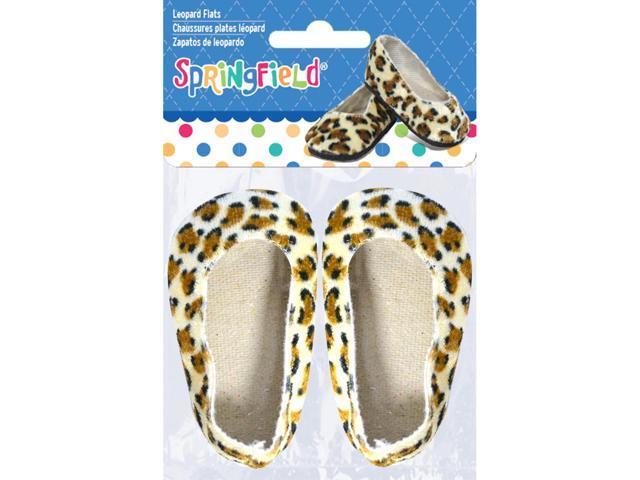 Springfield Collection Ballet Flats-Leopard