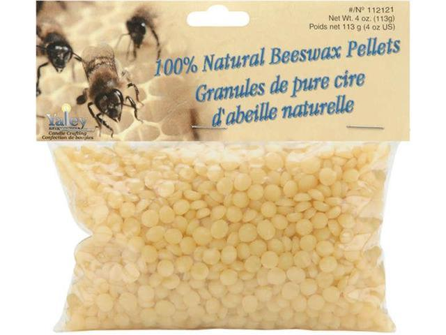 Beeswax Pellets 4oz-Natural