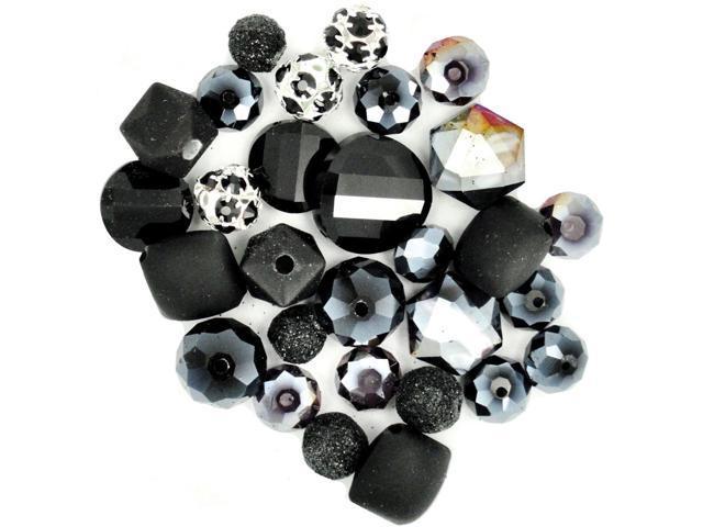 Design Elements Beads 28g-After Dark