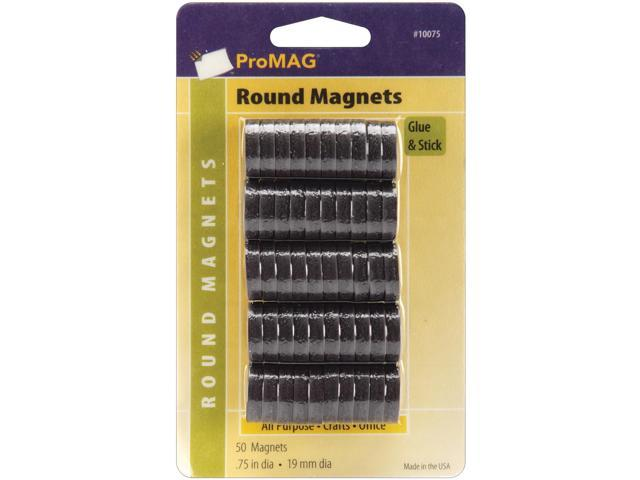 ProMag Flexible Round Magnets-.75