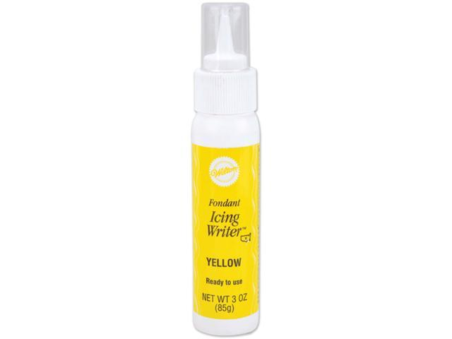 Fondant Icing Writer 3oz-Yellow