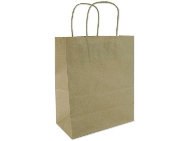 Tinted Kraft Bag Medium 7.75