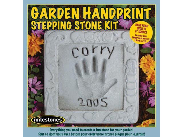 Mosaic Stepping Stone Kit-Garden Handprint