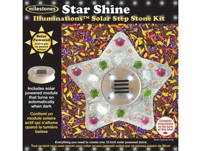 Mosaic Stepping Stone Kit-Star Shine