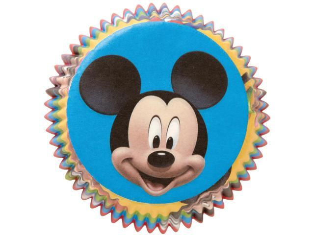 Standard Baking Cups-Mickey Mouse Clubhouse 50/Pkg