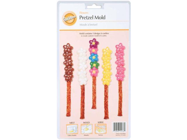 Pretzel Mold-Flower 6 Cavity