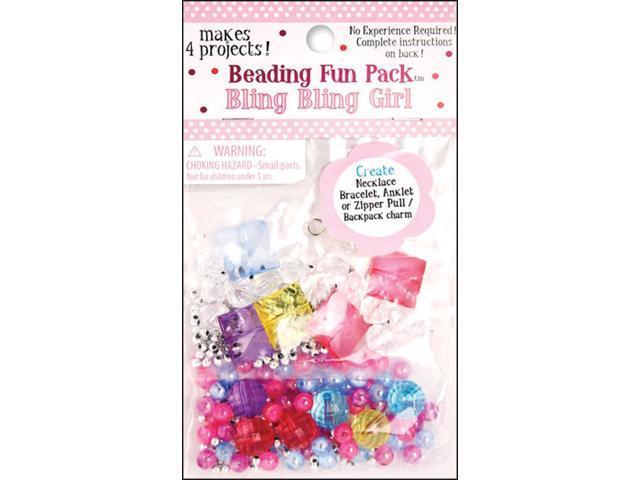 Beading Fun Pack-Bling Bling Girl