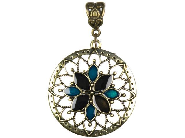 Jewelry Basics Metal Pendant 1/Pkg-Gold Sunburst