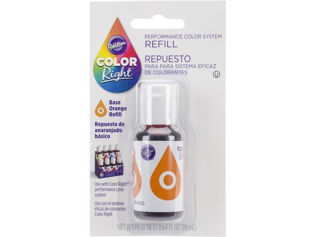Color Right Performance Color System Refill .7oz-Orange