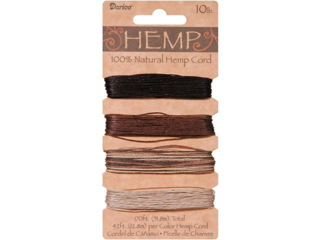 Hemp Cord 10lb 170'-Earthy