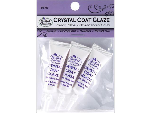 Crystal Coat Glaze 3/Pkg-