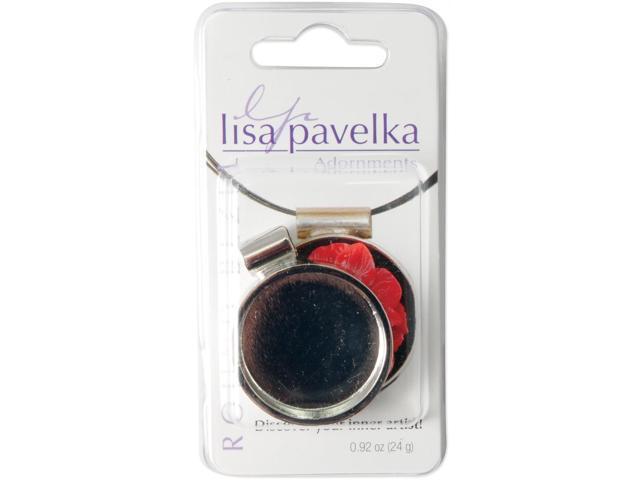 Lisa Pavelka Silver-Plated Bezel-Round