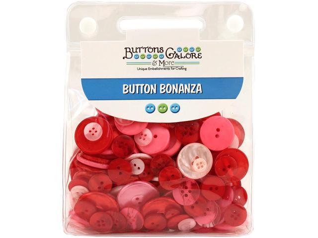 Buttons Galore Button Bonanza-Bubblegum