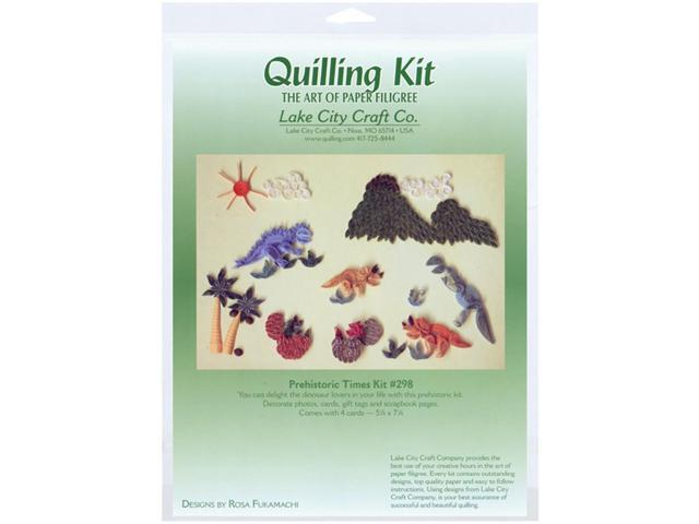 Quilling Kit-Prehistoric Times