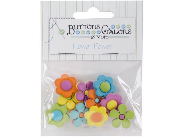 Button Theme Pack-Backyard Blooms