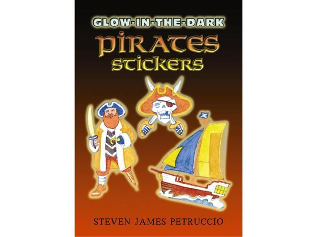 Dover Publications-Glow-In-The-Dark Pirates Stickers