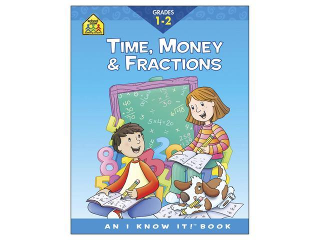 Curriculum Workbook-Time, Money & Fractions - Grades 1-2