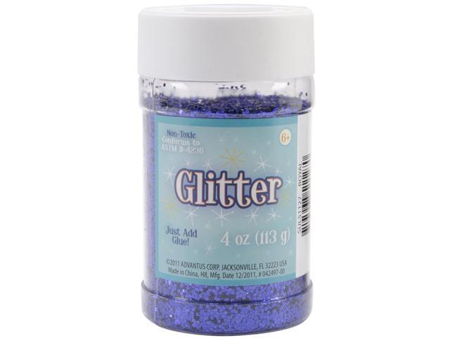 Glitter Shaker 4 Ounces-Royal Blue
