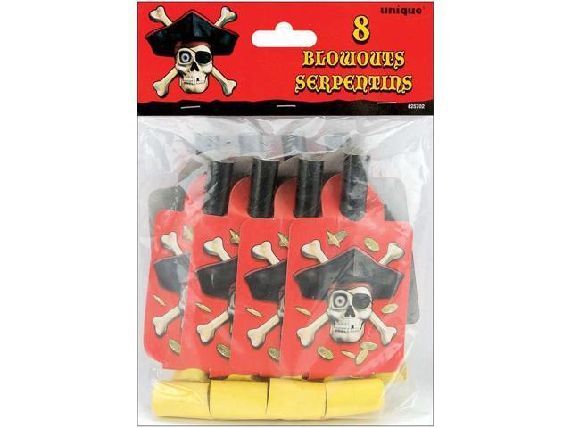 Blowouts 8/Pkg-Pirates Bounty