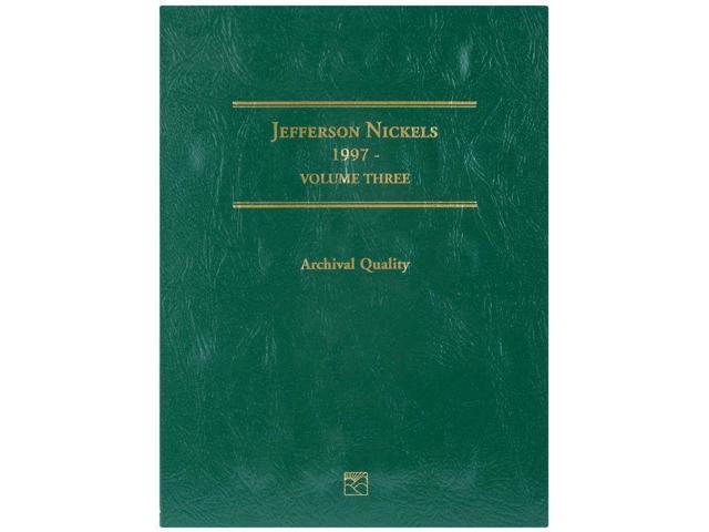 Jefferson Nickel Folder-1997-2008