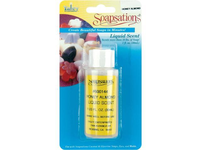 Soapsations Liquid Scent 1oz-Honey Almond