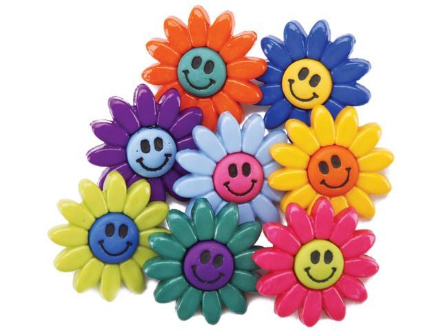 Dress It Up Embellishments-Smiley Flowers