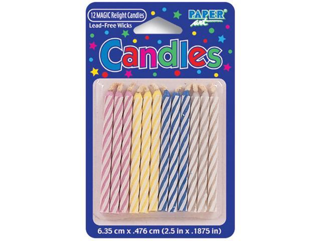 Magic Relight Birthday Candles 2.5