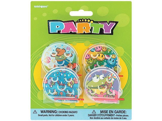Party Favors 4/Pkg-Bagatelle Games