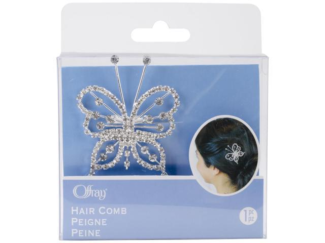 Butterfly Hair Comb-Multicolor