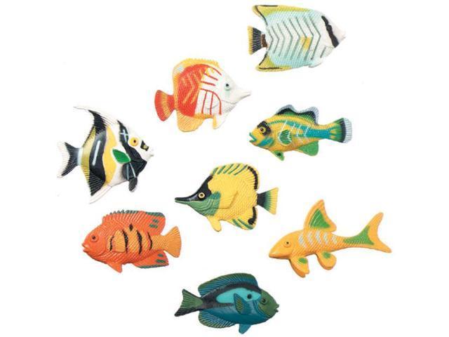 Darice 248515 Creatures Inc.-Tropical Fish 14-Pkg