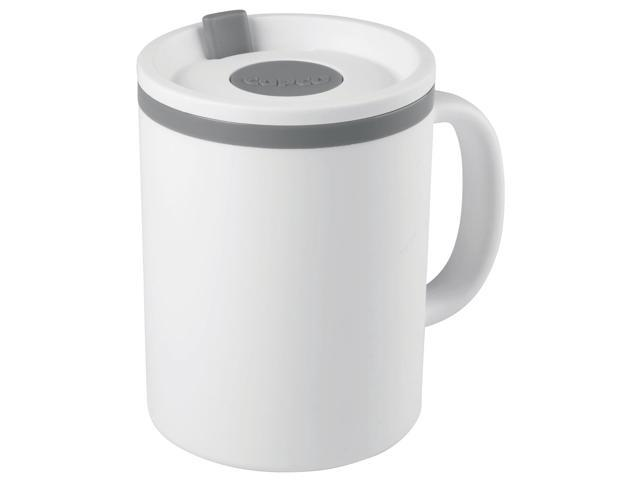 Iconic Desk Mug 16oz-White & Gray