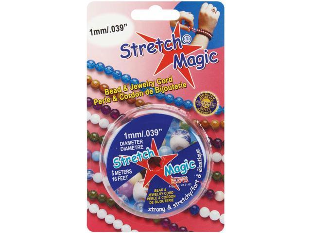 Stretch Magic Bead & Jewelry Cord 1mmX5m-Pearl