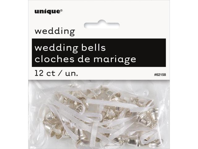 Wedding Bells 12/Pkg-Silver