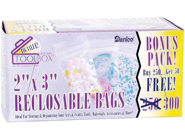 Reclosable Bags 300/Pkg-2
