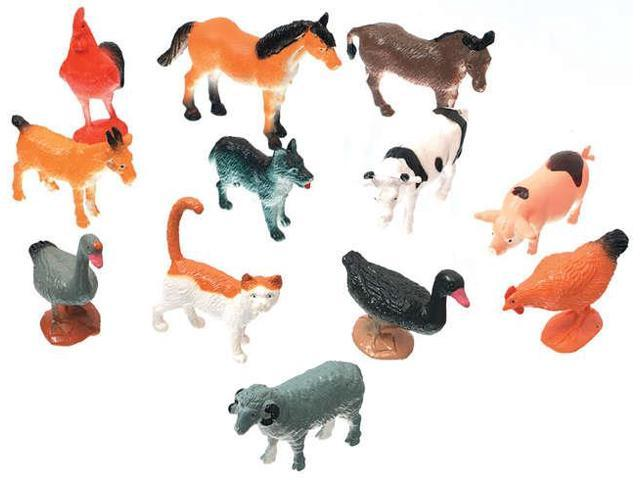 Creatures Inc.-Farm Animals 12/Pkg