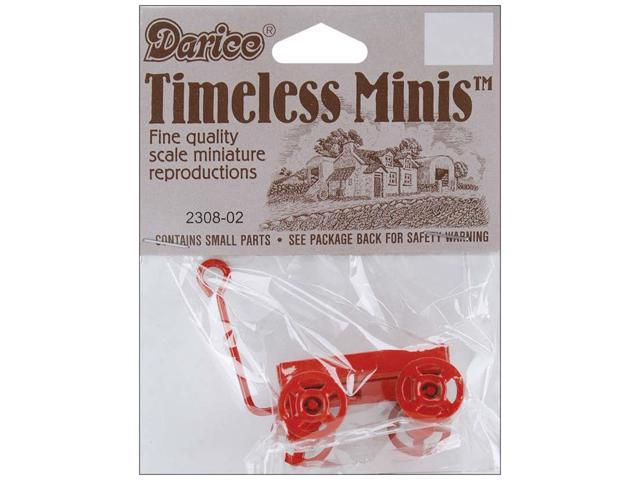 Timeless Miniatures-Red Wagon