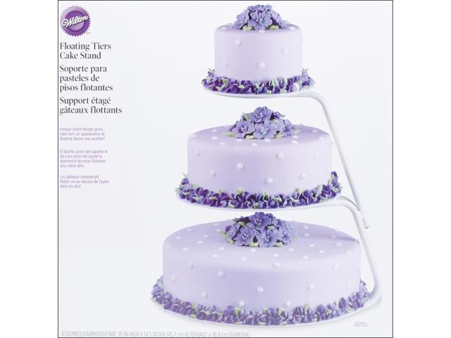 Floating Tiers Cake Stand-