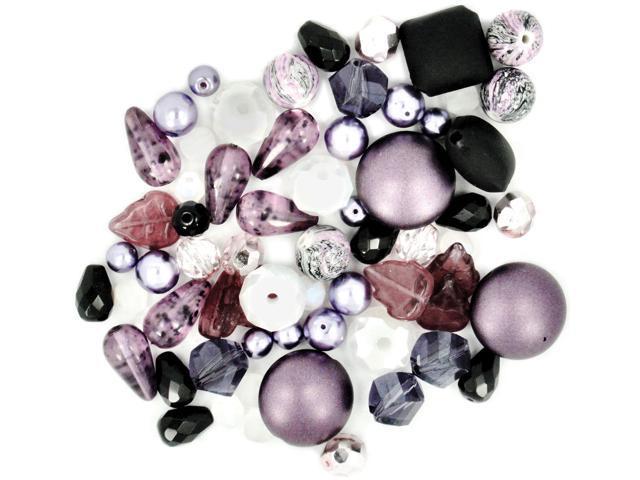 Design Elements Beads 28g-Monarchy