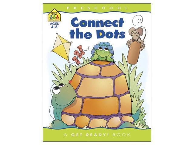 Preschool Workbooks-Connect The Dots - Ages 3-5
