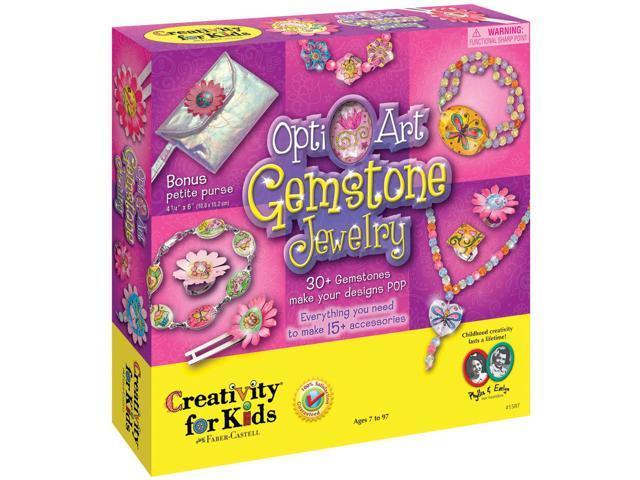 Opti-Art Gemstone Jewelry Kit-